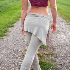 I love this look for hooping.Skirt Pants