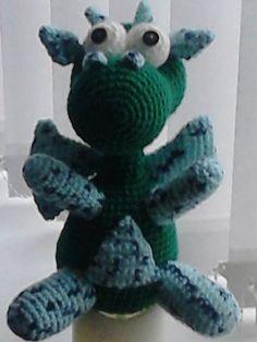 snuff the dragon - crochet