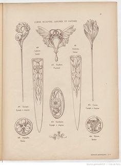 Travaux artistiques. Cahiers d'art appliqué... | 1911-12-15 | Gallica