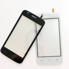 """4"""" Black Touch Screen Digitizer For Explay Atom Front Glass Lens sensor Replacement Free Shipping"""