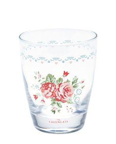 Abelone Trinkglas white
