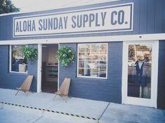 One of Aloha Beach Club's past projects... The Aloha Sunday Supply Co.