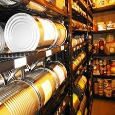 Living off of food storage is a challenge for me. Our family is LDS (Mormon). Our leaders have asked us to keep garden as well as a year's supply of food in case of an emergency or job loss… Emergency Preparedness Food Storage, Prepper Food, Emergency Preparation, Emergency Supplies, Survival Food, Survival Prepping, Survival Skills, Provident Living, Canned Food Storage