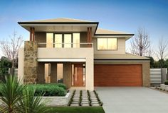 More House Facade Design Brick Design, Facade Design, House Design, Architecture Details, Modern Architecture, Clarendon Homes, Facade House, House Facades, Storey Homes