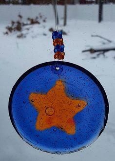 Star Suncatcher Beaded Suncatcher Gift for by MaidenLongIsland