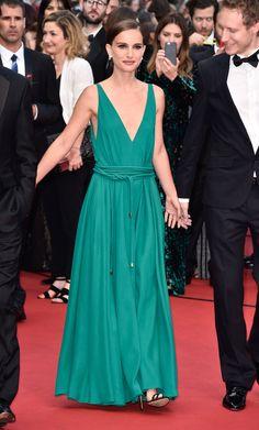 Natalie Portman en robe Lanvin