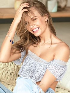 Lace Off-the-Shoulder Bralette - The Bralette Collection - Victoria's Secret