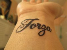 Strength Tattoos On Wrist | Forza Tattoo Strength Wrist Laura Grace