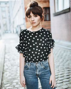 Alice Catherine wearing our must haves collection #lovedp #spring #top