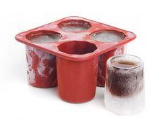 Værtindegave - Ice Shooters, Lav dine egne shotglas af is! Gadgets, Canning, Juice, Molten Chocolate, Vodka, Simple, Gifts, Home Canning, Tech Gadgets
