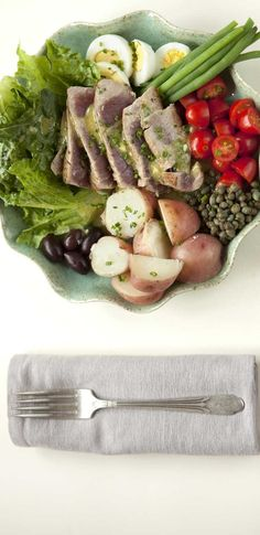 I'm looking forward to this Tuna Nicoise dish from Plated.