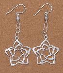 Silver Earrings  Peru