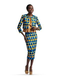 Ankara Mix ~African fashion, Ankara, kitenge, African women dresses, African prints, African men's fashion, Nigerian style, Ghanaian fashion ~DKK