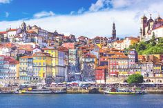 Portugal Porto City Wallpaper Mural
