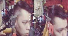 Barbeiro Encontra a Melhor Alternativa Para Cortar Cabelo Sem Usar Tesouras Ou Lâminas http://www.desconcertante.com/barbeiro-encontra-alternativa-cortar-cabelo-tesouras-ou-laminas/