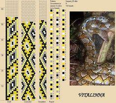 """VITALINNA: Mon """"serpentarium"""" 1 (motifs pour les colliers au crochet)"""