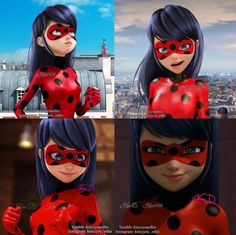 Ladybug with her Hair out edit