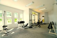 Augustine Grove by Crown Asia - Gym Workout Rooms, Big Houses, Elegant Homes, Inspired Homes, Home Builders, Canopy, The Neighbourhood, Asia, Crown
