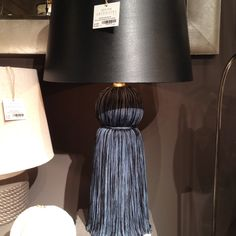 Another find by Style Spotter Jamie Meares: the Tassel lamp at Arteriors. Clean Sheets, High Point Market, Light Up, Light Fixtures, Tassel, Lamps, Sweet Home, New Homes, Fat