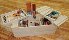 Caja de herramientas estilo Japonés, muy interesante el sistema de cierre
