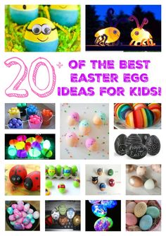 Fun Finds Friday - The Best Easter Egg Ideas for Kids - Kitchen Fun With My 3 Sons