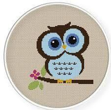 cross stitch owls - Google Search