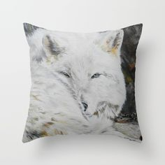 Eye of the Wild by Teresa Thompson Throw Pillow