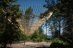 five installations unveiled as international garden festival opens in quebec