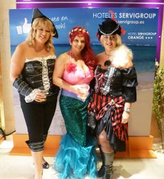 Fancy Dress Party at the Hotel Servigroup Orange. #Benidorm