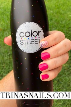 At home nail ideas  Are you madrid-ing me Pigment of your imagination   #diynails #nails #nailart #nailpolish #colorstreet