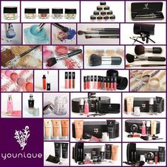 Younique has all your makeup needs!  Let me introduce you to our great Younique line.