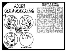 86 best cub scout printables images on pinterest languages