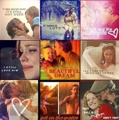 The Notebook, one of the best movies ever. Best Motivational Quotes, Cute Quotes, Inspirational Quotes, Great Love Stories, Love Story, Nicholas Sparks Novels, Sparks Movies, Movie Collage, The Notebook Quotes