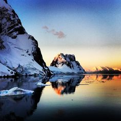 Visit Antarctica, even if it's one foot touching the ice for a minute!