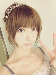 篠田 麻里子 Diary : 8月 http://blog.mariko-shinoda.net/2012/08/post-195.html