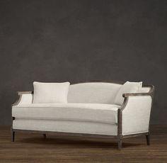 """Laurent Salon Bench: $1495  63""""W x 30""""D x 30""""H"""