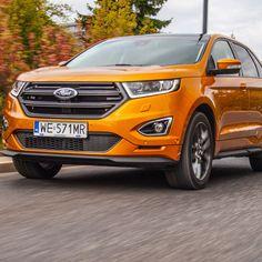 Ford Edge - SUV w rozmiarze XXL Ford Edge Suv, Tucson, Nissan, Diesel, Volkswagen, Vehicles, Car, Diesel Fuel, Automobile