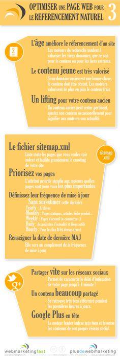 Optimiser une page web pour le référencement naturel [Infographic]