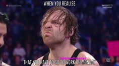 So true XD  Ambrose....Don't pout! You look so adorable