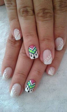 70 Trendy Spring Nail Designs are so perfect for this season Hope they can inspire you and read the article to get the gallery. Love Nails, Pretty Nails, My Nails, Nail Designs Spring, Cool Nail Designs, Spring Nails, Summer Nails, Nails For Kids, Nail Art Galleries