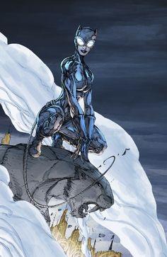 Catwoman Comic, Catwoman Cosplay, Batman And Catwoman, Im Batman, Batgirl, Brett Booth, Catwoman Selina Kyle, Batman Hush, Mundo Comic