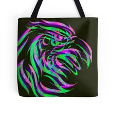 """Psy Eagle"" Tote Bags by indusdreaming 