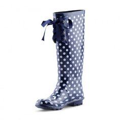 C. Wonder   Lace-Up Rainboots