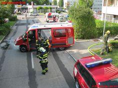 Gebäudebrand Sparkassenstrasse Braunau am Inn #feuerwehr
