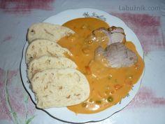 Bratislavské vepřové plecko No Salt Recipes, Pork Recipes, Cooking Recipes, New Menu, Lunch Snacks, What To Cook, Food 52, Main Meals, Family Meals