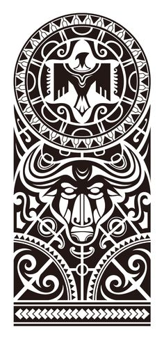 Maori and Polynesian style mix tribal