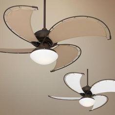 "52"" Cool Vista Damp Oil-Rubbed Bronze Ceiling Fan"