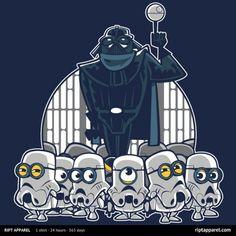 Les Minions de Moi, Moche et Méchant versions Star Wars