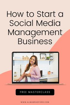 Register to this FREE MASTERCLASS and know how to become a social media manager while working from home. #socialmedia #workfromhome Affiliate Marketing, Social Media Marketing, Digital Marketing, Business Goals, Business Tips, Web Class, Blogger Tips, Free Training, Home Based Business