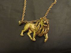 Roaring Lion Statement Necklace  Very Unique by DresdenCreations, $20.00